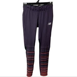 Purple new balance tights size small/ Au 10 - worn twice
